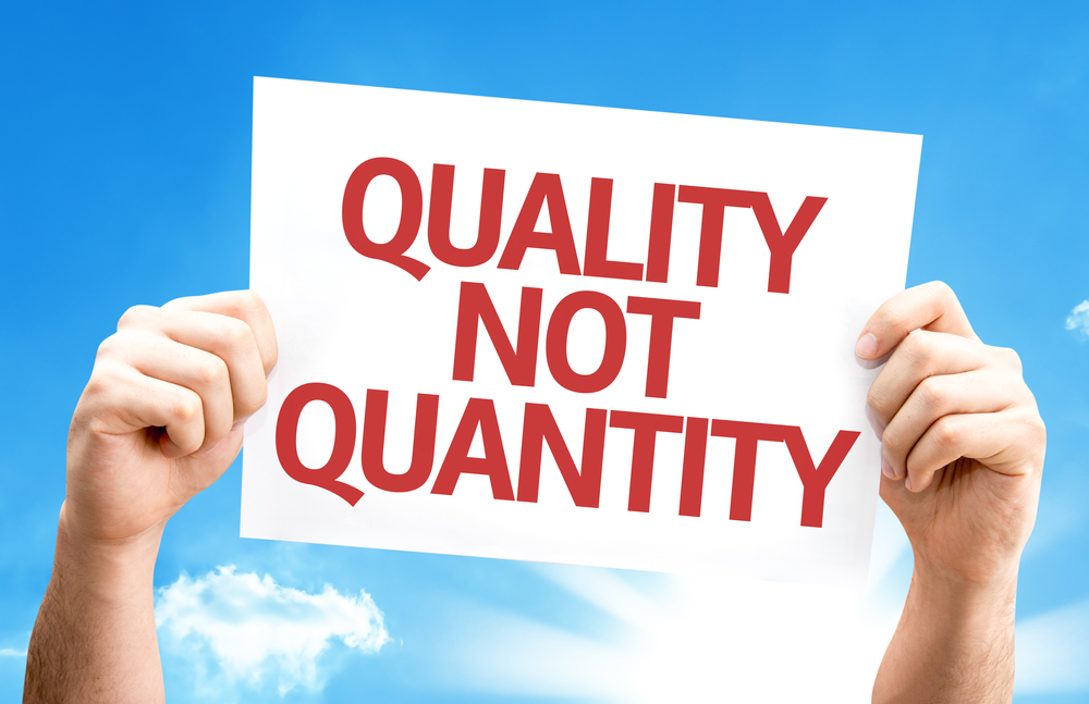 Quality not quantity generating business leads