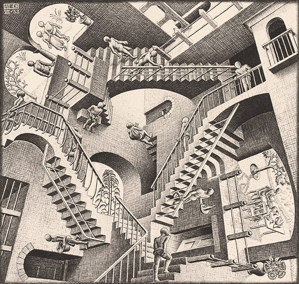 MC-Escher-Relativity not a sales pipeline