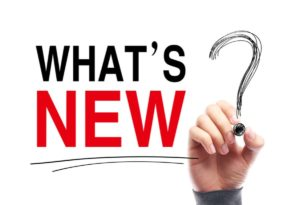 "Hand writing :""What's NEW?"""