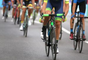 Event opportunities - Cyclists sprinting during Tour de France