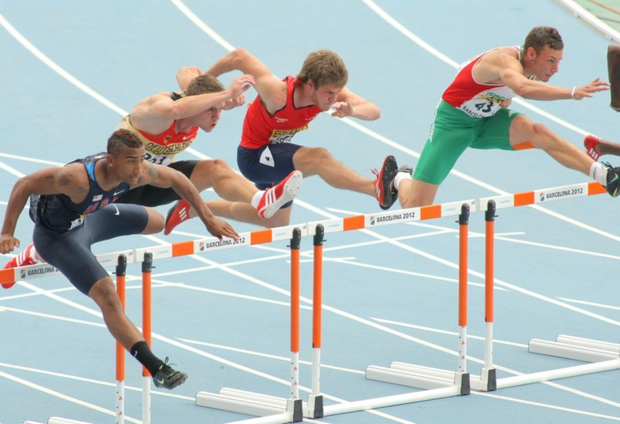 buying journey.110 m hurdles.Overcome barriers in B2B sales