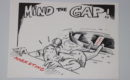 align sales and marketing teams. Cartoon: mind the gap.