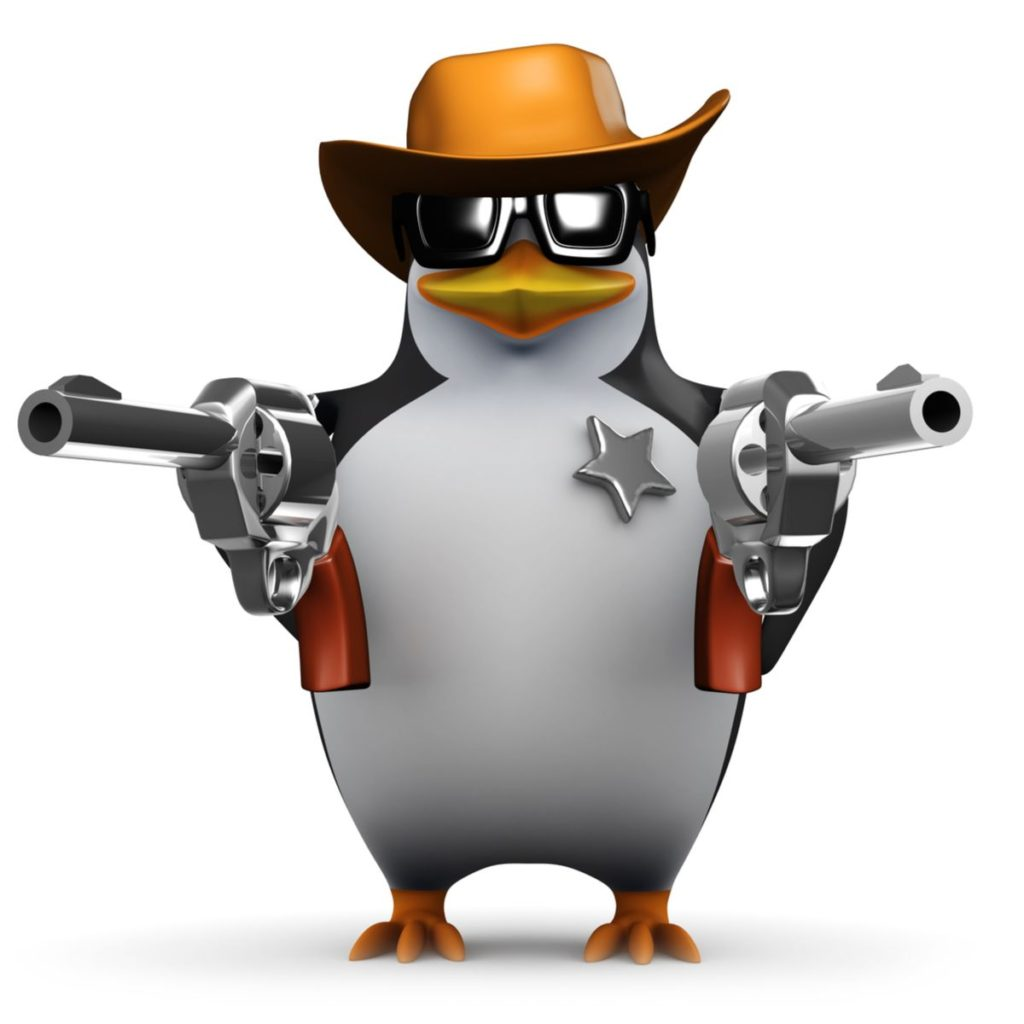 Technical SEO - Penguin holding guns