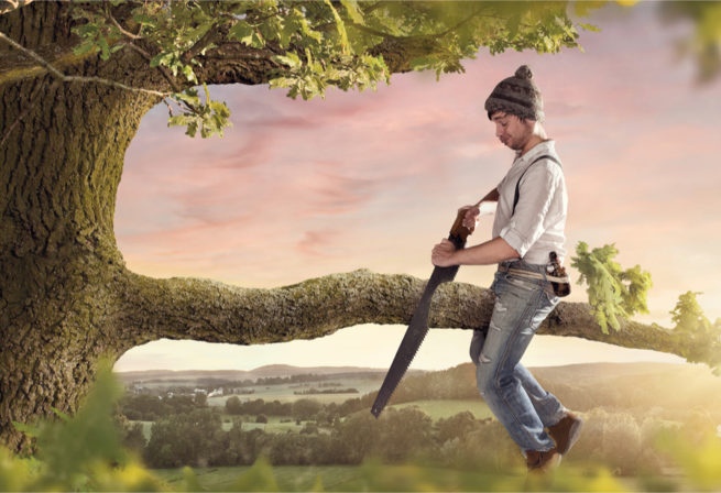 SEO mistakes: cutting the branch you sit on